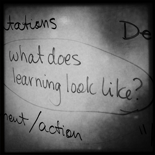 What Does Learning Look likeÉ